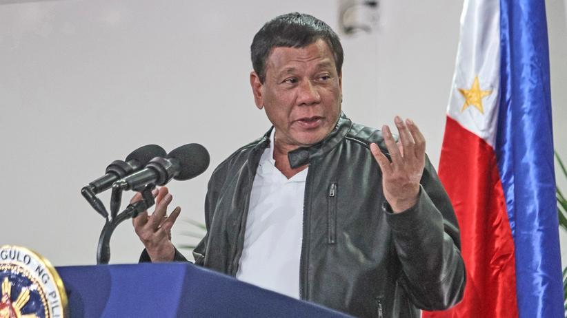 Philippinen: Der Präsident der Philippinen, Rodrigo Duterte