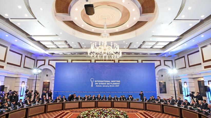 Schutzzonen Syrien Astana