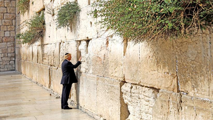 """Donald Trump in Israel: """"Einer der schwierigsten Deals überhaupt"""""""