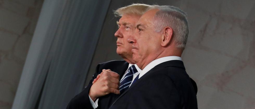 US-Präsident Donald Trump Israels Premier Benjamin Netanjahu
