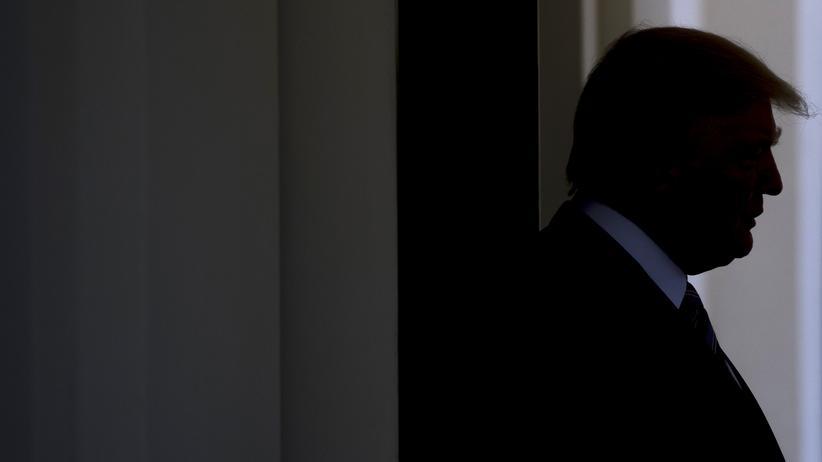 Donald Trump: Donald Trump im Weißen Haus