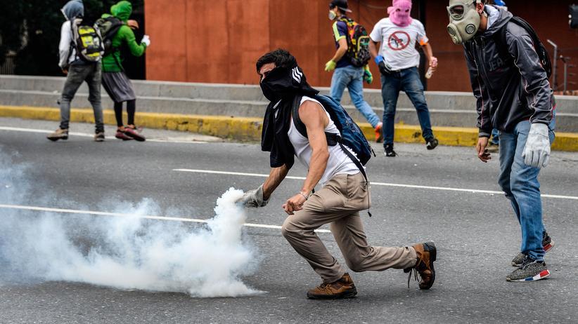 Caracas: Jugendlicher bei Protesten in Venezuela getötet