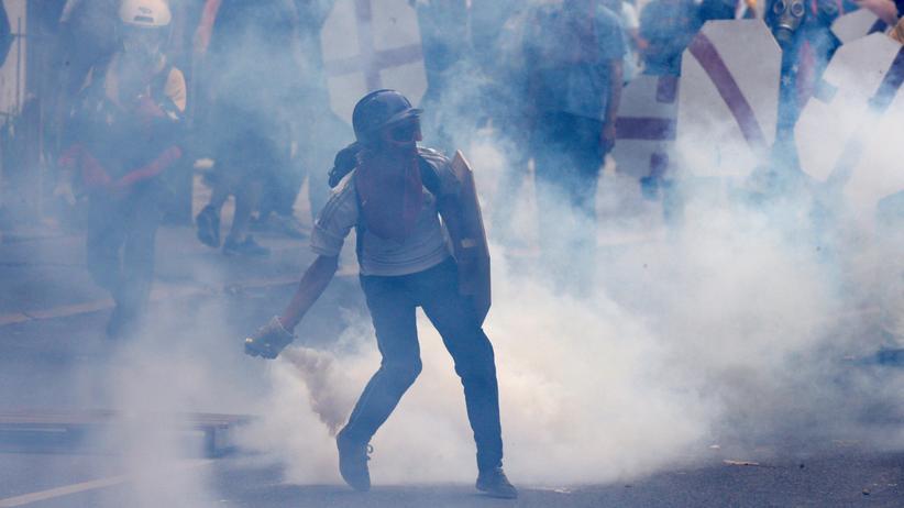 Venezuela: Ein Toter und viele Verletzte bei Protesten gegen Regierung
