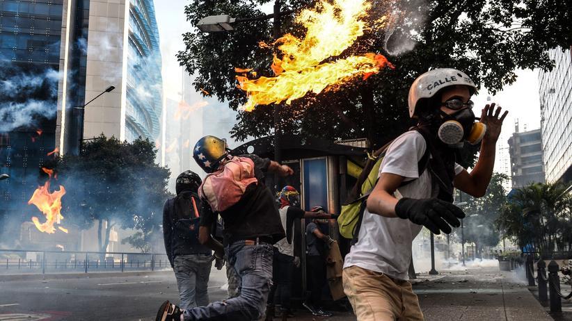Venezuela: Die Opposition will weiter demonstrieren