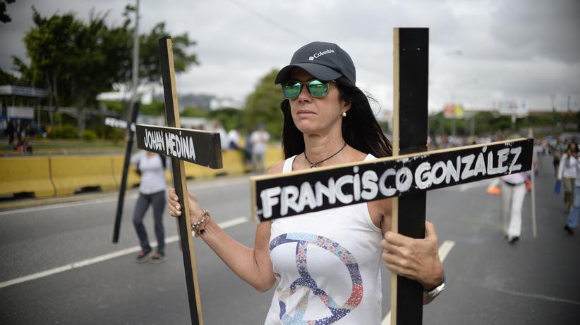 Südamerika: Demonstrationen gegen die Regierung in Venezuela