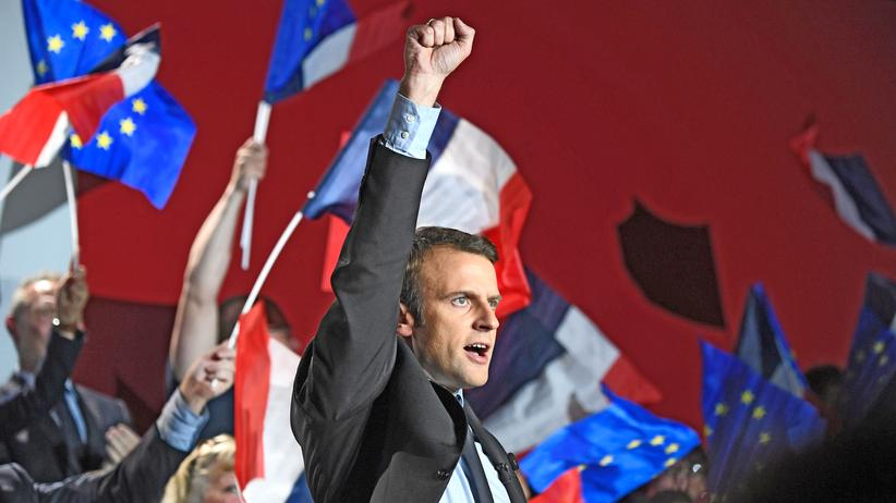 Macron Favorit im Finale von Frankreichwahl