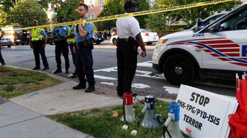 Washington: Verletzte bei Demonstration vor türkischer Botschaft