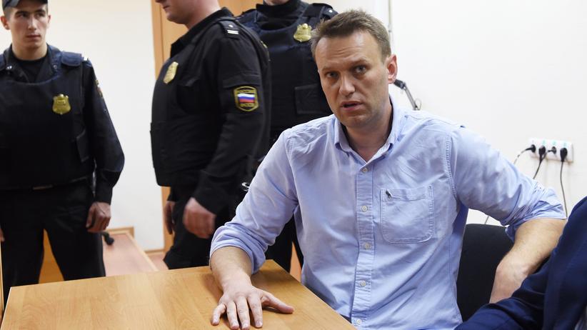 Russland: Regierungskritiker Nawalny muss 30 Tage in Haft