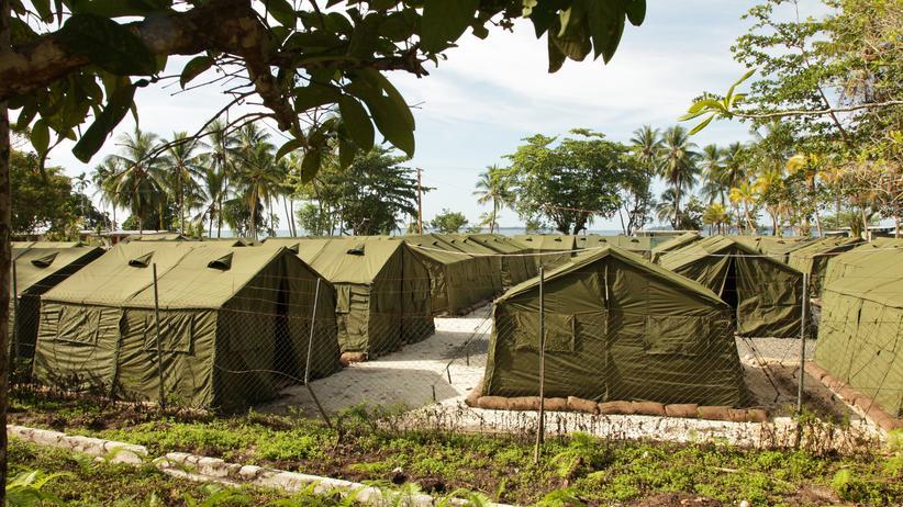 Australien: Das Lager für Asylsuchende auf der Insel Manus