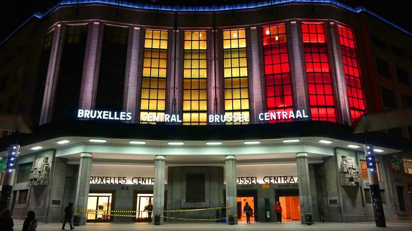 Brüssel: Ermittler stufen Explosion in Brüsseler Bahnhof als Terroranschlag ein