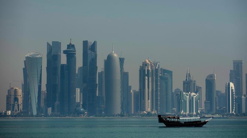 Katar-Krise: Die Skyline von Doha, Katar