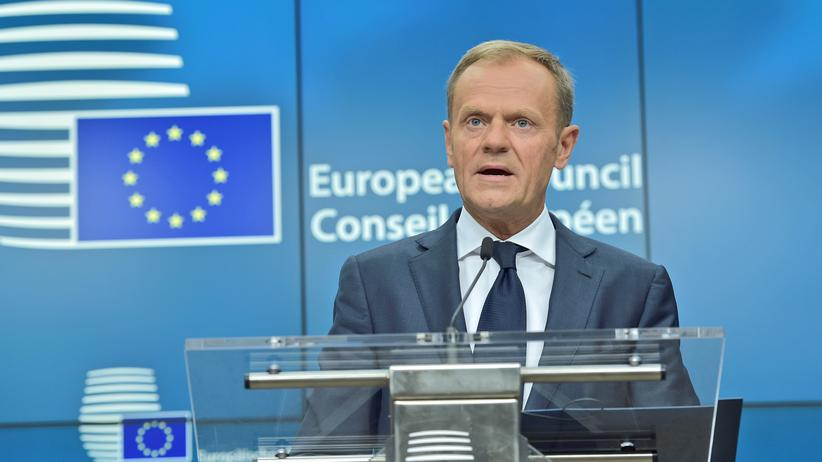 Donald Tusk: EU-Ratspräsident weist Mays Angebot zu EU-Bürgern zurück