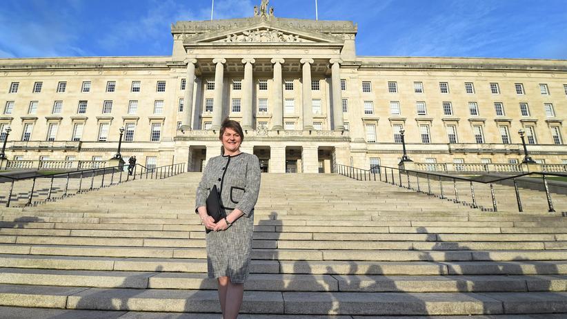 DUP: Die Vorsitzende der Democratic Unionist Party (DUP), Arlene Foster.