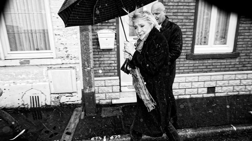 Front National: Marine Le Pen in ihrem Heimatwahlkreis, Henin-Beaumont.