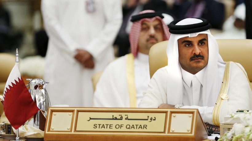 Golfstaaten: Der Emir von Katar, Tamim bin Hamid al Thani (Bild vom November 2015)