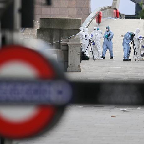 London Bridge Anschlag Forensik