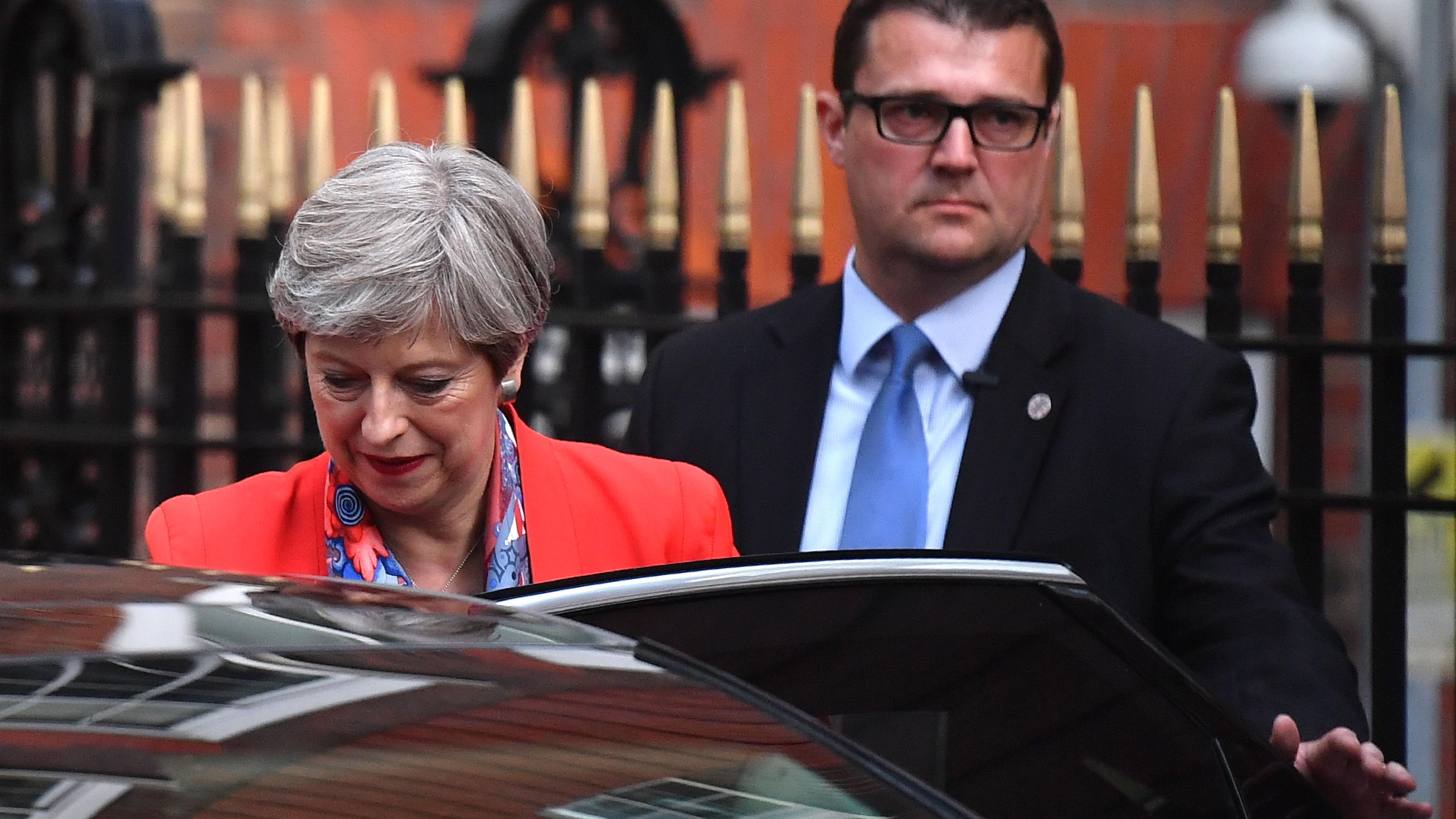 Theresa May verliert absolute Mehrheit