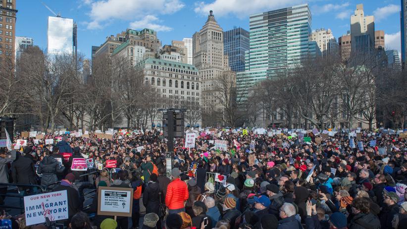 Donald Trump: Der Widerstand aus den Städten