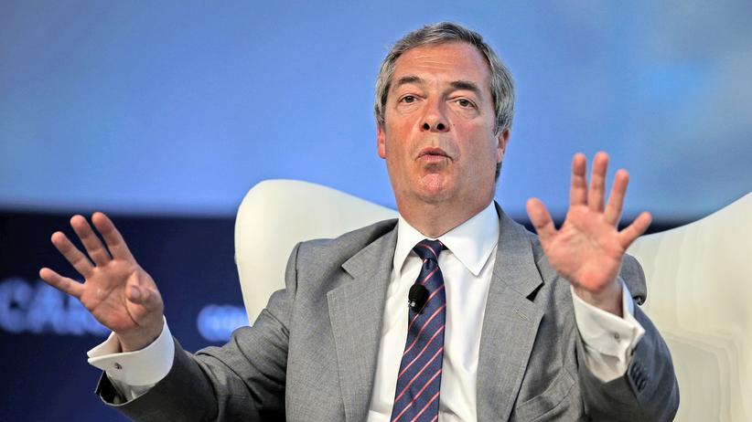 Russland-Ermittlungen: Der ehemalige Chef der Ukip und Brexit-Befürworter Nigel Farage