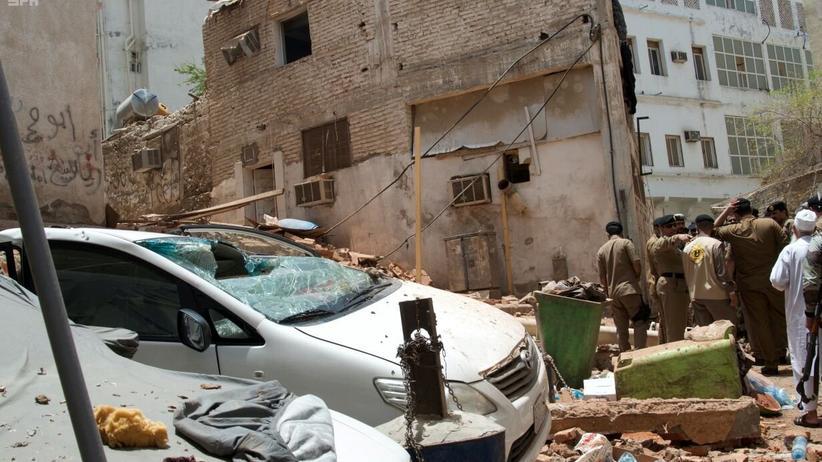 Saudi-Arabien: Anschlag in Mekka vereitelt