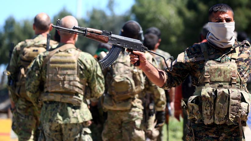 Syrien: Kämpfer der kurdischen YPG-Milizen