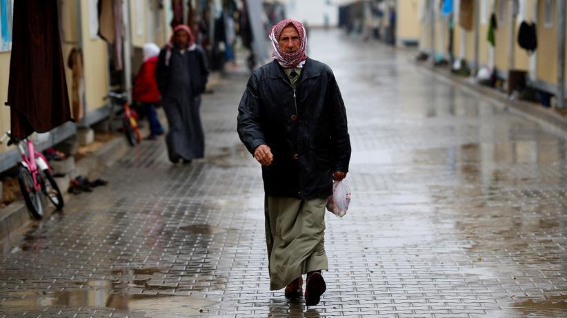Türkei: Syrischer Flüchtling im türkischen Aufnahmelager Elbeyli (Archiv)