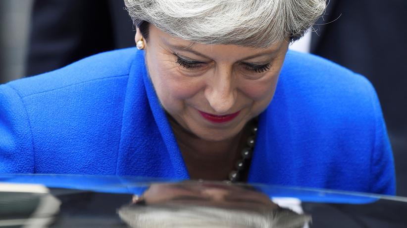 Großbritannien: Theresa May in London
