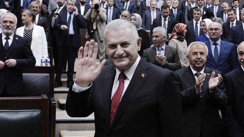 Türkei: Der türkische Ministerpräsident Binali Yıldırım in Ankara