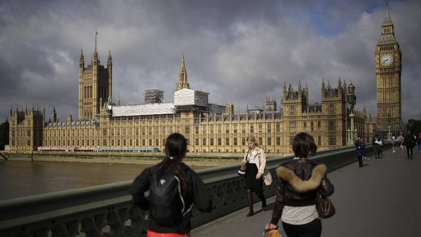 """Unterhauswahl in Großbritannien : Was bedeutet ein """"hung parliament"""" für die Briten?"""