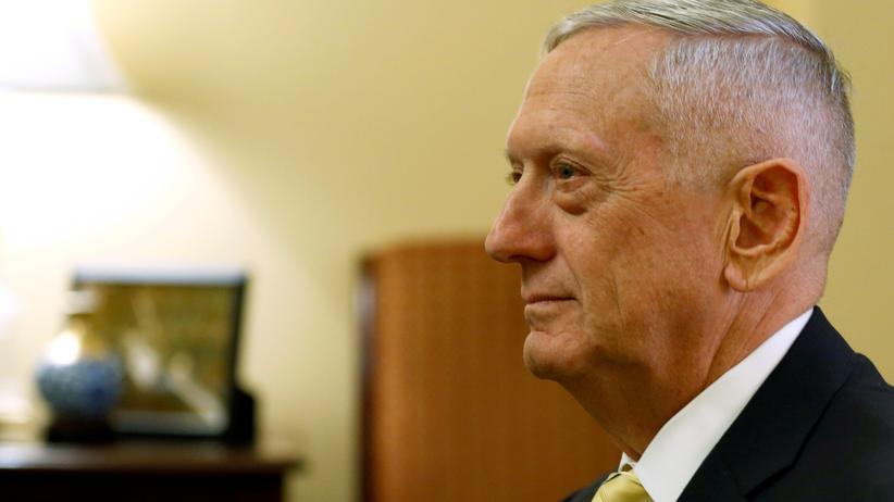 James Mattis: US-Verteidigungsminister James Mattis
