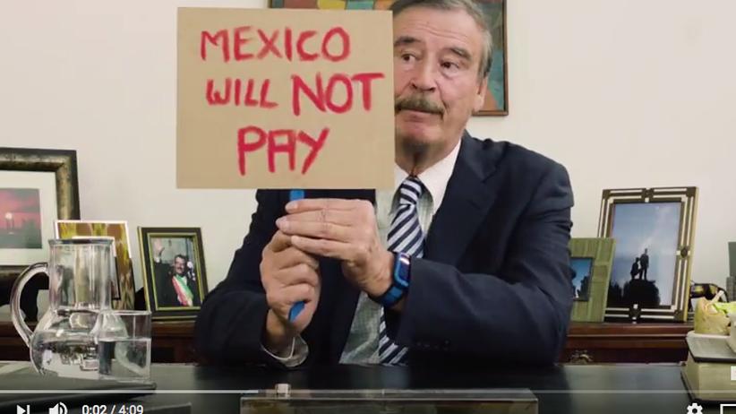 Vicente Fox: Der Cheftroll von US-Präsident Trump