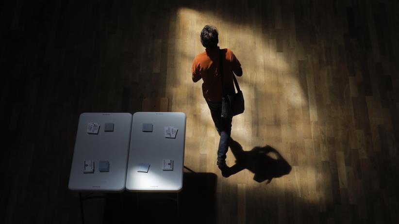 Zweite Runde der Wahl zur Nationalversammlung in Frankreich