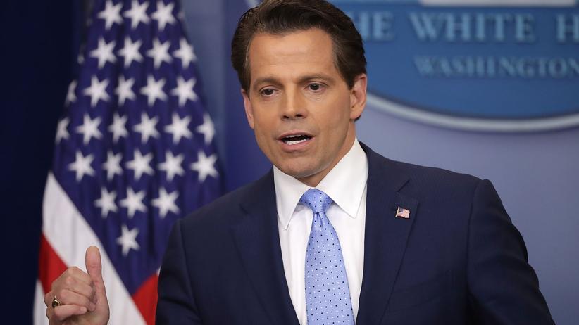 Anthony Scaramucci: Trumps neuer Kommunikationschef droht mit Entlassungen