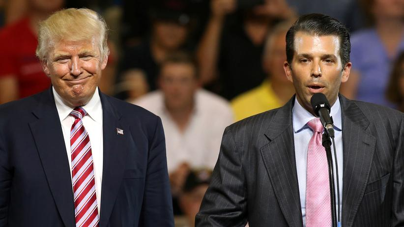 Russland-Affäre: Trump hält seinen Sohn für unschuldig