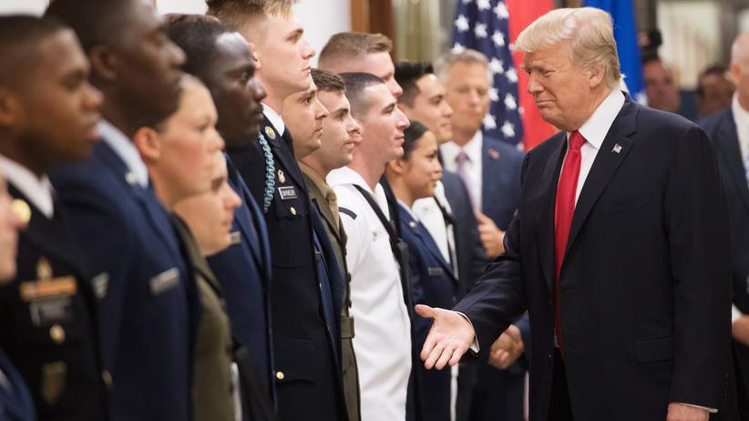 USA: Trump will Transmenschen von der Armee ausschließen