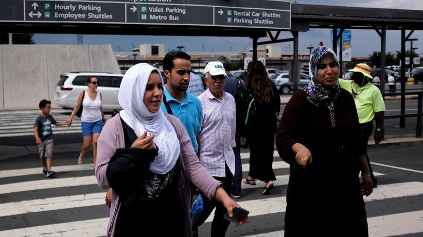 Donald Trump: US-Regierung wehrt sich gegen Ausnahmen bei Einreiseverbot