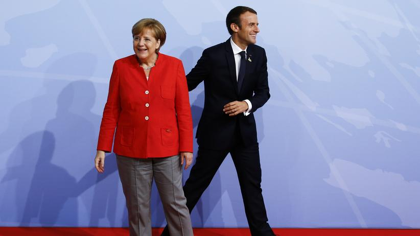 Trumps Wiedersehen mit Macron