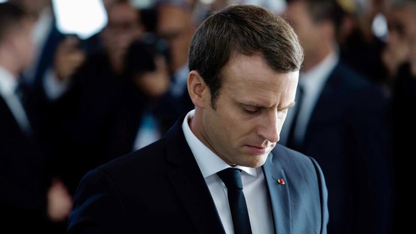 Emmanuel Macron: Frankreichs Präsident Emmanuel Macron Mitte Juli in Paris