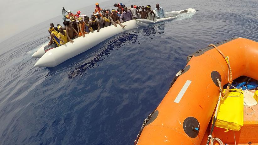 Erneut Kritik an Rettern im Mittelmeer