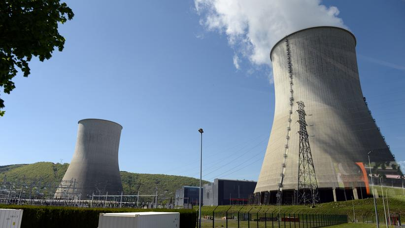 Energiewende: Das Atomkraftwerk von Chooz im Nordosten Frankreichs