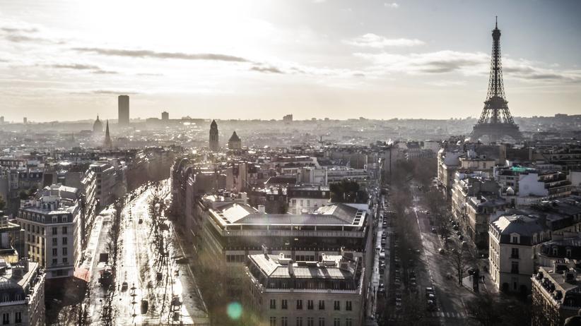 Frankreich: Blick auf die französische Hauptstadt Paris