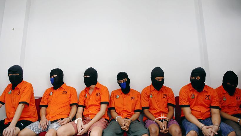 Indonesien Präsident Widodo Will Drogenhändler Erschießen Lassen