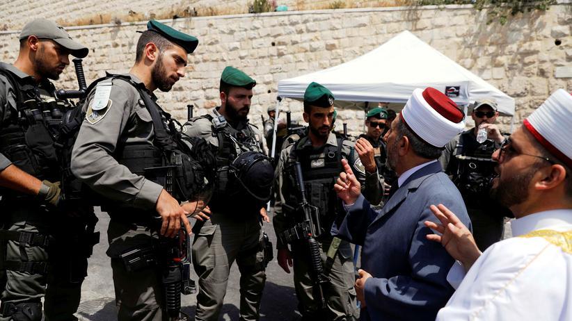 Israel: Tempelberg für muslimische Männer unter 50 gesperrt