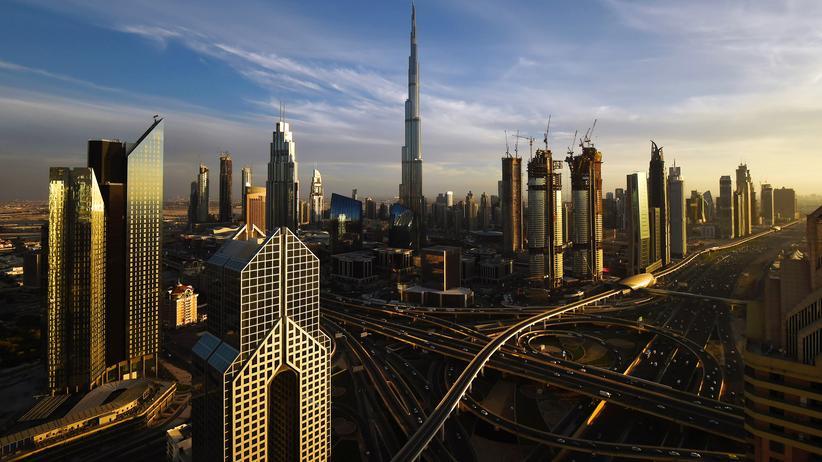 Katar-Krise: Die Skyline von Dubai