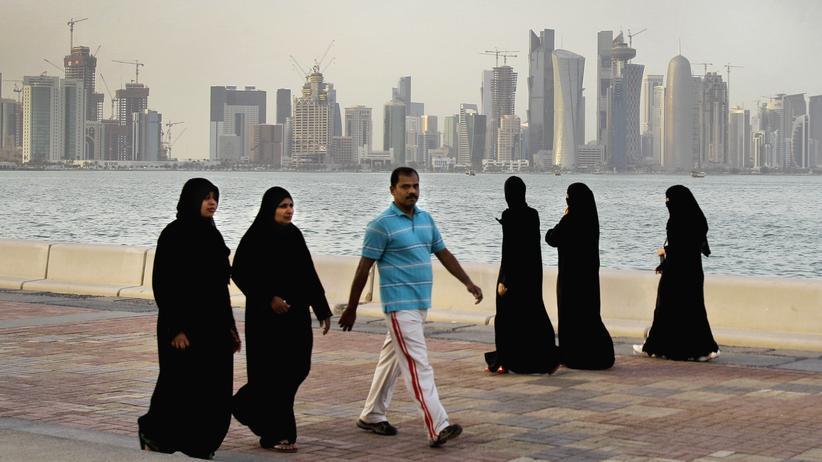 Katar: Das Emirat Katar und seine Hauptstadt Doha (Foto) sind seit den Sanktionen der Nachbarländer von der Außenwelt weitgehend isoliert.