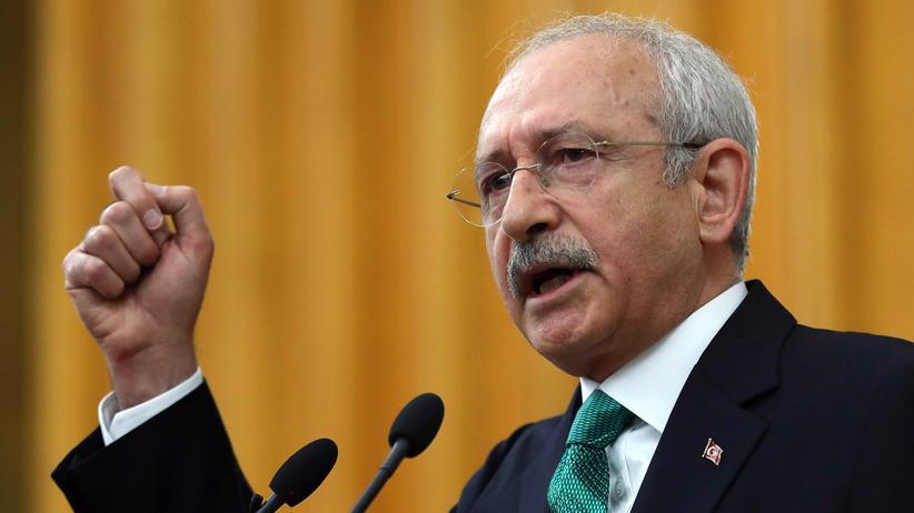 Referendum in der Türkei: Der CHP-Vorsitzende Kemal Kılıçdaroğlu