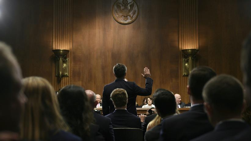 Christopher Wray: Der nominierte FBI-Chef Christopher Wray vor dem US-Senat