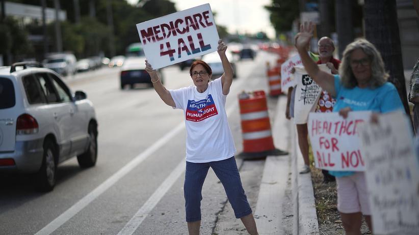 Donald Trump: US-Senat eröffnet Debatte zur Abschaffung von Obamacare