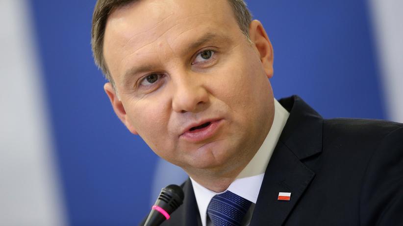Andrzej Duda: Der polnische Präsident Andrzej Duda