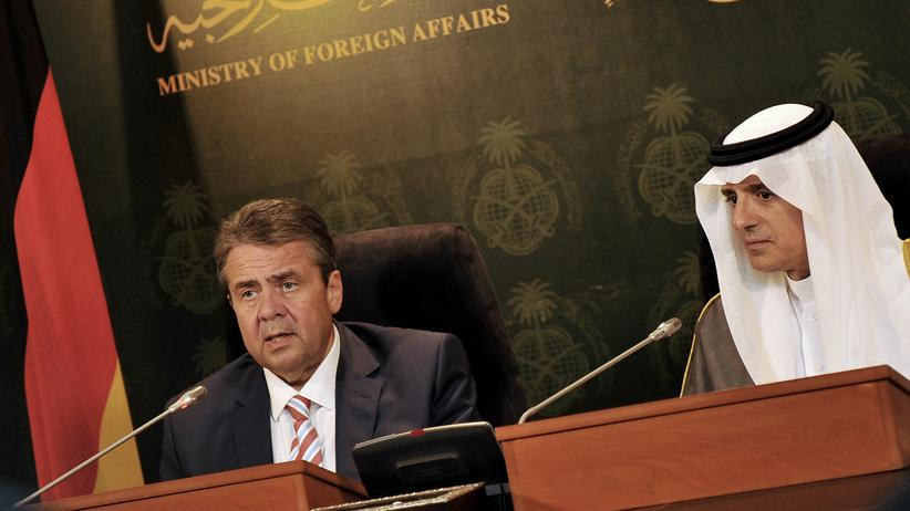 Terrorismus: Gabriel empfiehlt Golfstaaten Abkommen gegen Terror